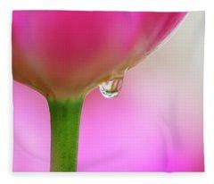 Tulip Drop Fleece Blanket