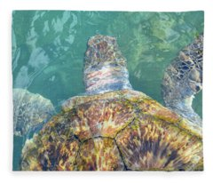 Turtle Texture Fleece Blanket