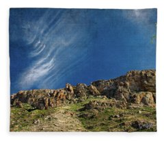 Tuscon Clouds Fleece Blanket
