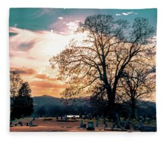 Twilight Approaches Fleece Blanket