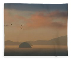 Twilight Calm Fleece Blanket