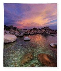 Twilight Canvas  Fleece Blanket