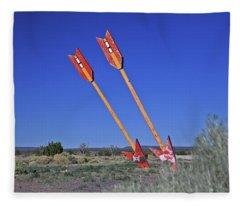 Twin Arrows Fleece Blanket
