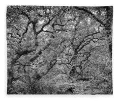 Twisted Forest Fleece Blanket