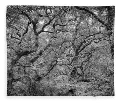 Twisted Forest Fleece Blanket