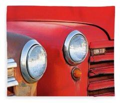 Two Headlights Fleece Blanket