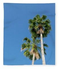 Two Palms Fleece Blanket
