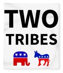 Two Tribes Fleece Blanket
