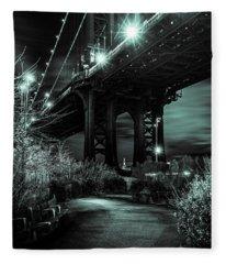 Under The Bridge Fleece Blanket