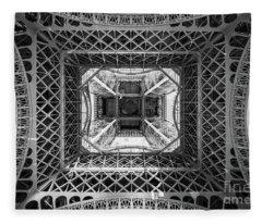 Under The Eiffel Tower Fleece Blanket