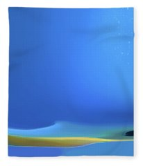 Undercurrents Fleece Blanket