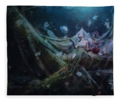 Unravel Fleece Blanket
