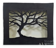 Until Leaves Fall Fleece Blanket