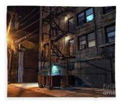 Urban Nights Fleece Blanket