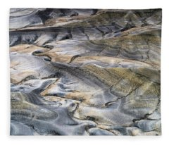 Utah Desert Panorama Fleece Blanket