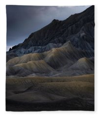 Utah Mountainside Fleece Blanket
