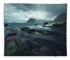 Uttakleiv Mood Fleece Blanket