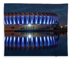 Va Beach Strong Fleece Blanket