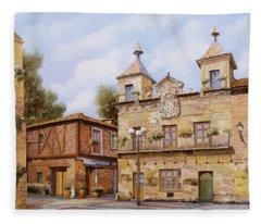 Valderas-spain Fleece Blanket