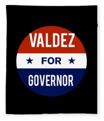 Valdez For Governor 2018 Fleece Blanket