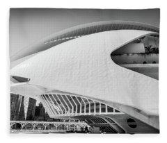 Valencia Cultural Centre Fleece Blanket