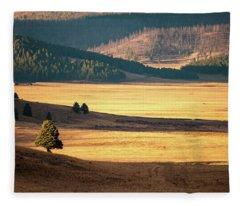 Valles Caldera Detail Fleece Blanket