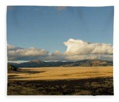 Valles Caldera National Preserve II Fleece Blanket