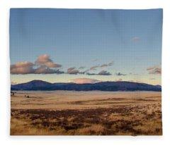 Valles Caldera National Preserve Fleece Blanket