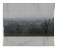 Valley Dawn  Fleece Blanket