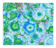 Van Gogh's Garden Fleece Blanket