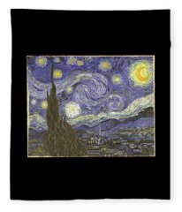 Van Goh Starry Night Fleece Blanket