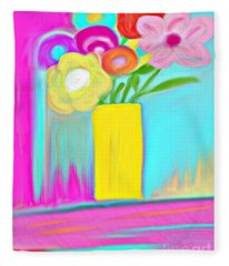 Vase Of Life Fleece Blanket