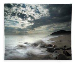 Ventura County Line Fleece Blanket