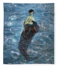 Venus Mermaid Fleece Blanket