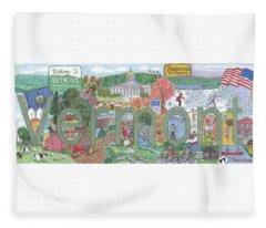 Vermont Fleece Blanket