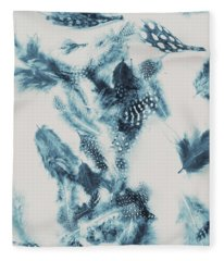 Vertigo Blue Fleece Blanket