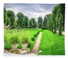 Vienna Garden Fleece Blanket