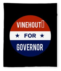 Vinehout For Governor 2018 Fleece Blanket