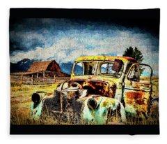 Vintage Fleece Blanket
