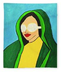 Virgin America Fleece Blanket