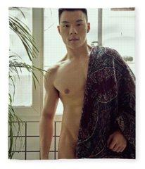 W Fleece Blanket