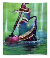 Walk On Water Fleece Blanket