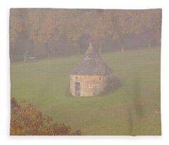 Walnut Farmers, Beynac, France Fleece Blanket