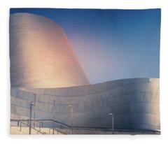 Walt Disney Concert Hall, California Fleece Blanket