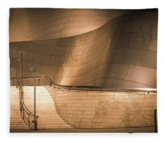 Walt Disney Concert Hall, La, Walt Disney Concert Hall, Los Angeles, California Fleece Blanket