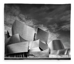 Walt Disney Concert Hall - Los Angeles Fleece Blanket