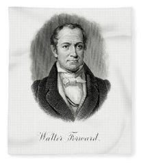 Walter Forward Fleece Blanket