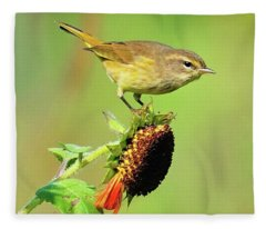 Warbler Fleece Blanket