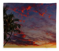 Warm Sky Fleece Blanket