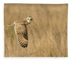 Watching You Watching Me Fleece Blanket